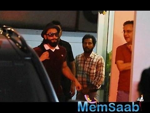 Ranveer Singh denies film with Deepika and Vidhu Vinod Chopra