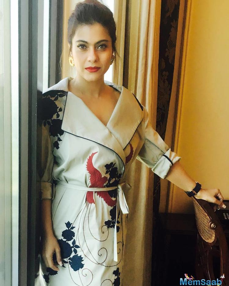 Kajol denies the rumours that her role in VIP 2 was originally written for Rajinikanth