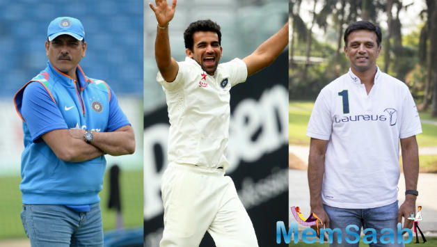 Ravi Shastri Team India chief coach, Zaheer, Dravid, appointed as bowling, batting coach