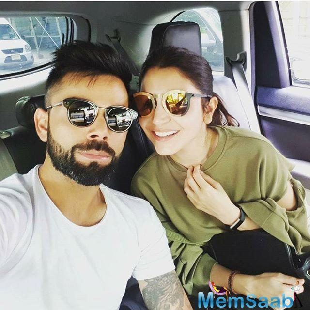 First spotted by the paps on Wednesday in New York, Indian cricket team captain Virat Kohli was wandering around the streets of the city with alleged girlfriend Anushka Sharma.