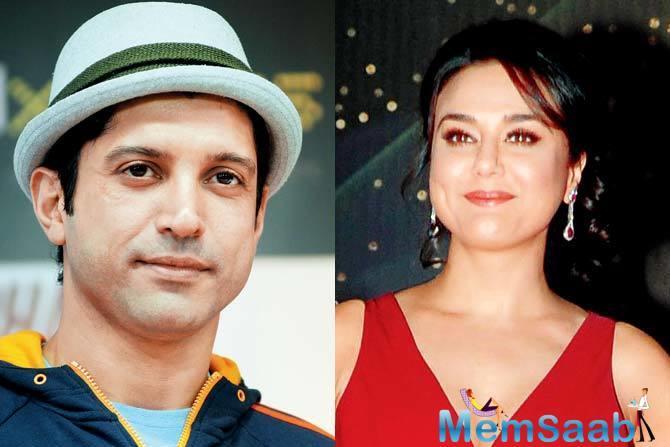Preity Zinta slams at Farhan Akhtar for showing her in bad light