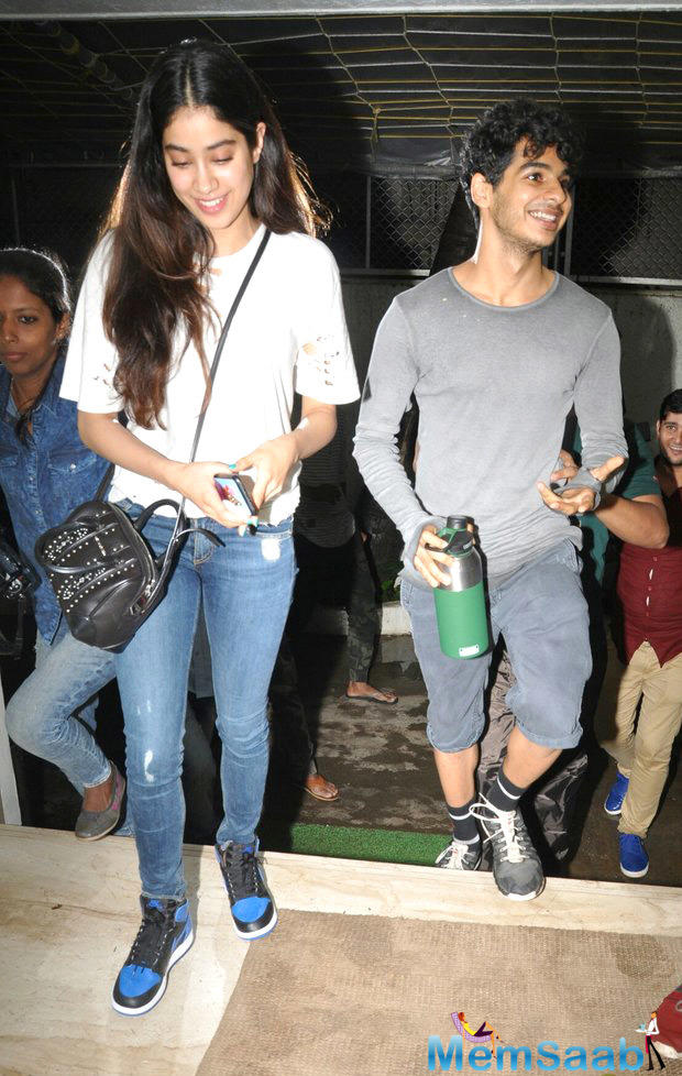 The young actor is becoming a name to reckon with. Earlier, he had grabbed headlines, thanks to his many outings with Jhanvi Kapoor. The two young turks were spotted watching Baywatch together among other spottings.