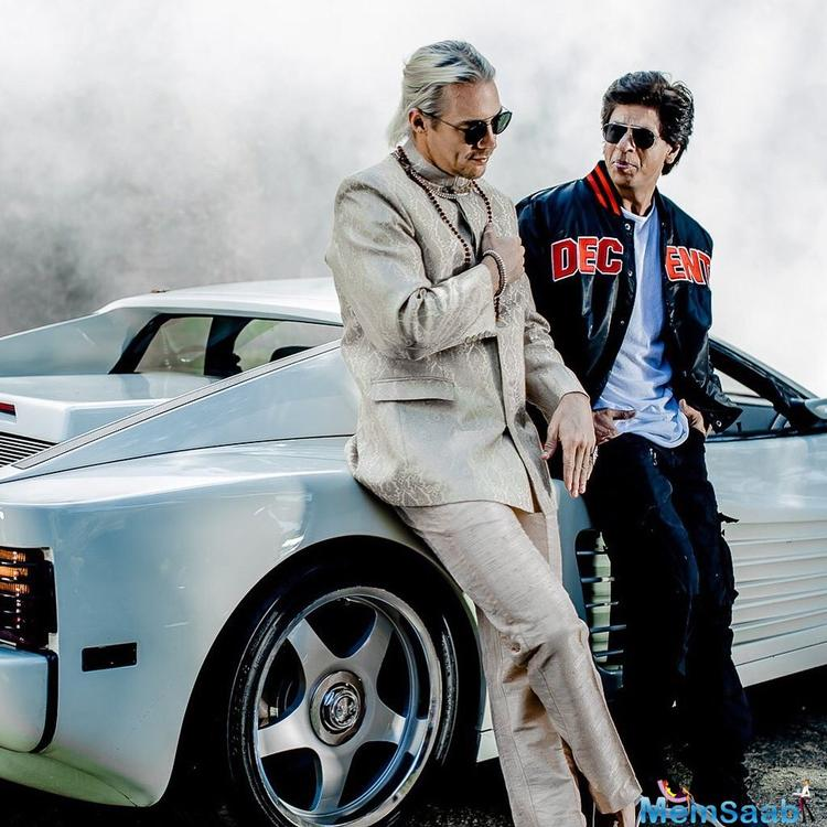 SRK will be collaborating with Grammy winning DJ Diplo for a song 'Phurrr'