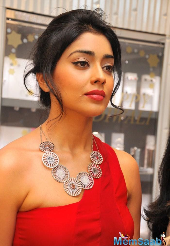 You will be surprised to know what Shriya Saran is working on next! She now plans to co-write a stage musical that will see her performing Kathak.