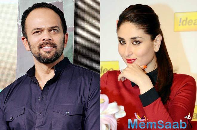 Rohit  on Kareena's cameo in Golmaal Again: No, not really; If I want her I'll do a whole film with her