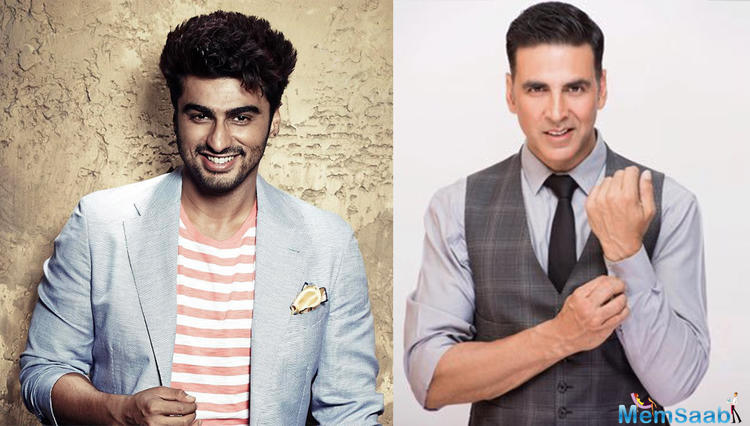 Find out: Akshay upset with Arjun for signing Namastey Canada?