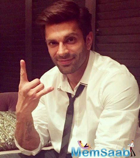 Karan Singh Grover sports a nose ring for his next movie