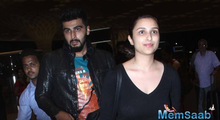 Arjun Kapoor is lucky to work with me: Parineeti Chopra