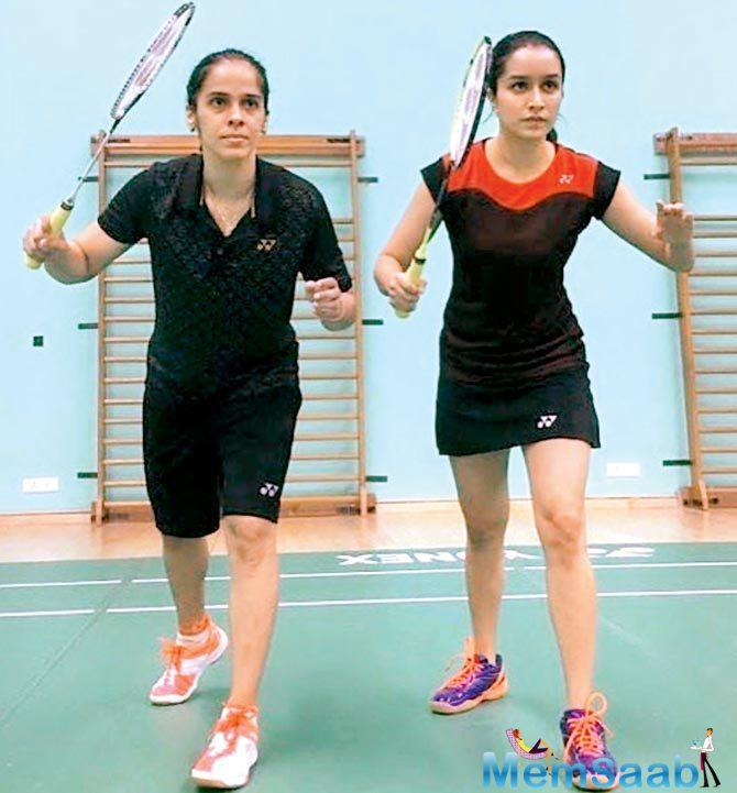 After portraying the mafia queen of the underworld, Haseena Parkar, the actress is all set to play ace badminton player Saina Nehwal in her next film.