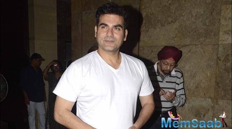 Arbaaz Khan grateful to still be an actor