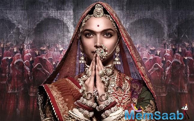 'Padmavati' has been embroiled in a spate of controversies ever since its inception.