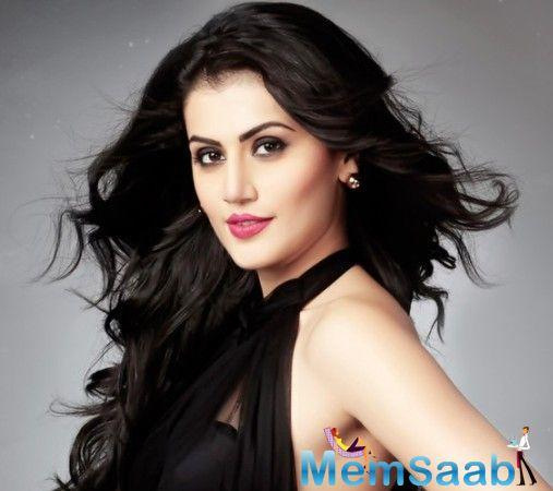 Taapsee Pannu will be seen opposite Diljit Dosanjh in the sports biopic 'Soorma' as his love interest.