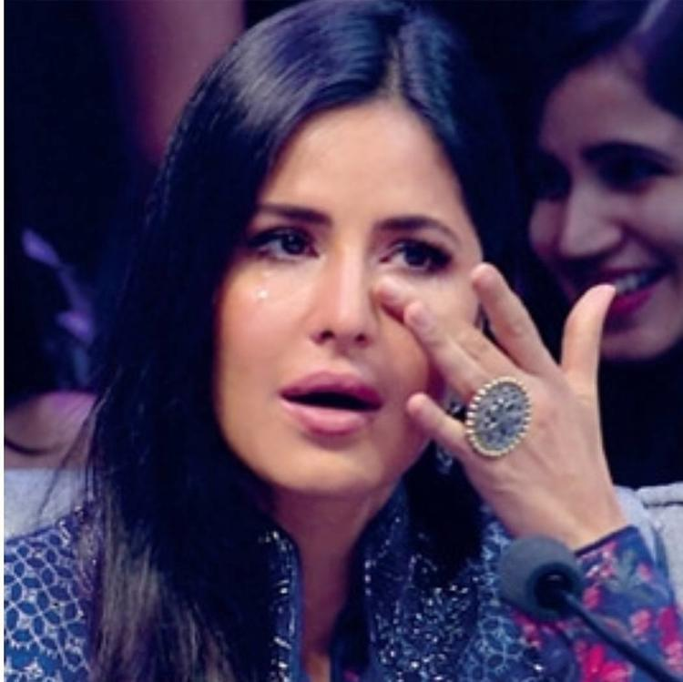 Katrina broke down watching 'Tere Naam' act and Salman tried to cheer her up