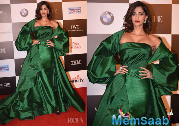 Excited about the event, the 'Neerja' star Sonam said,