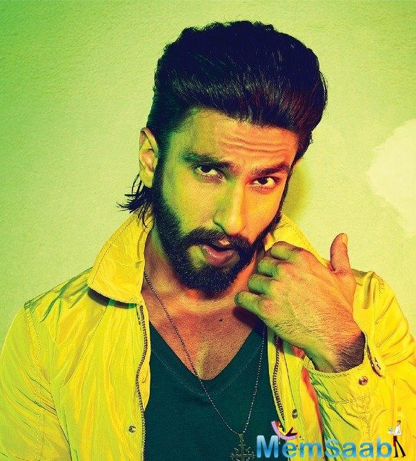 Ranveer Singh is the new cop in town and he goes by the name Sangram Bhalerao!