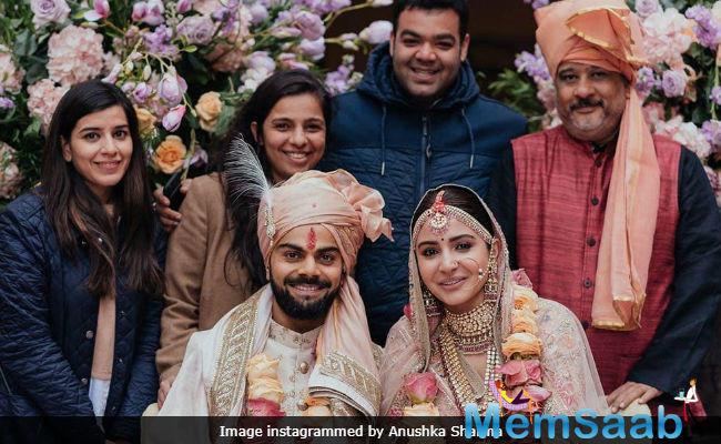 Anushka Sharma expresses gratitude towards her 'lovely wedding planners'