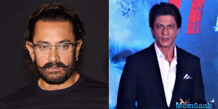 Shah Rukh Khan replaces Aamir Khan in Rakesh Sharma's biopic