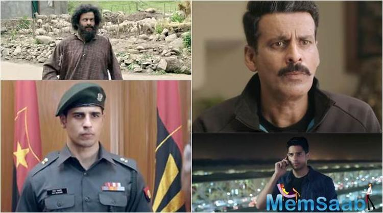 The much anticipated trailer of Manoj Bajpayee-Sidharth Malhotra starrer 'Aiyaary' is finally released today.