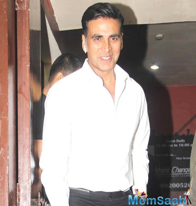 Period's not taboo, fight the taboo, says Akshay Kumar