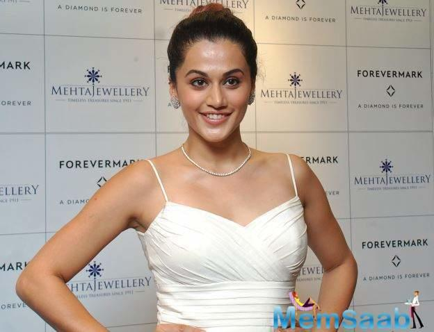 Taapsee Pannu says she likes balancing between serious and light-hearted roles