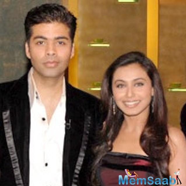 Rani Mukerji And Karan Johar to reunite after five years!