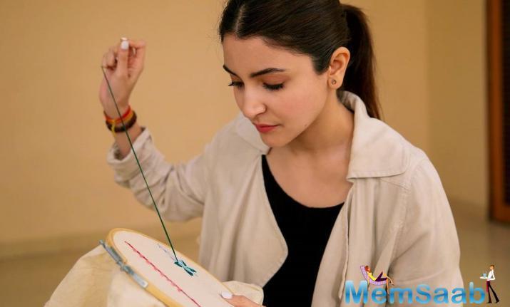 Anushka Sharma starts preparing for Sui Dhaaga