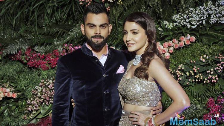 After their secret wedding in December, fans and the paparazzi went gaga about newlyweds Virat Kohli and Anushka Sharma.