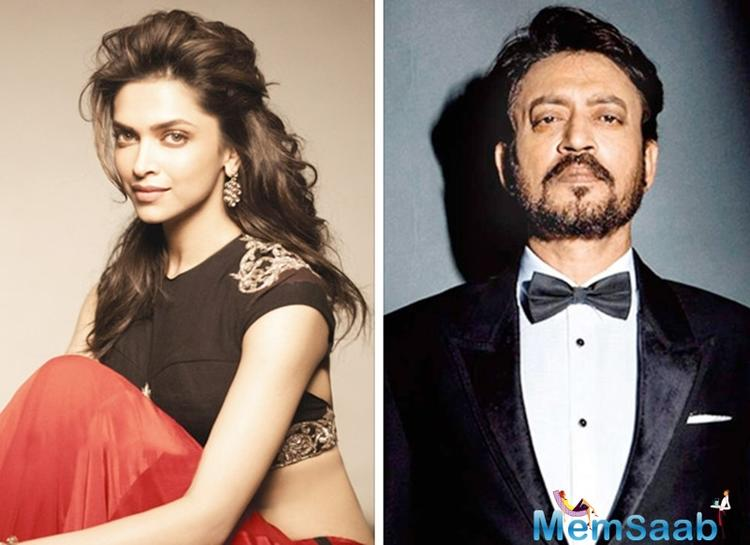 Deepika Padukone spoke candidly about her co-star Irrfan's health at recently concluded awards night.