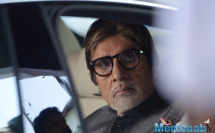 Amitabh Bachchan is back in action