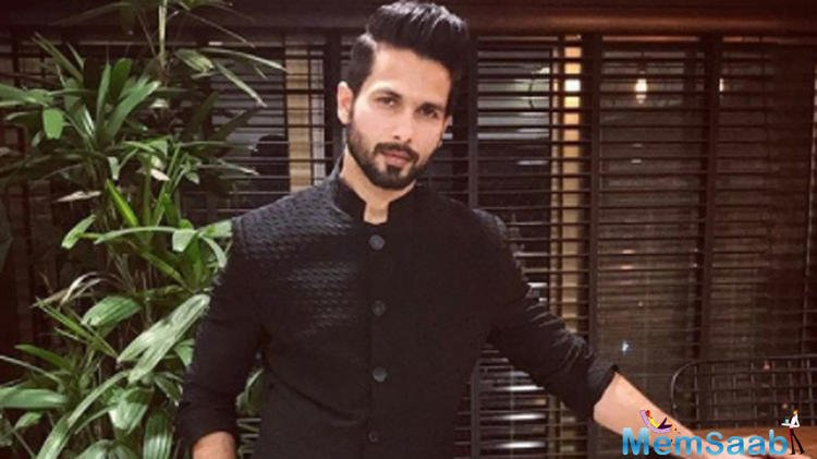 Shahid Kapoor has this special message for PM Modi