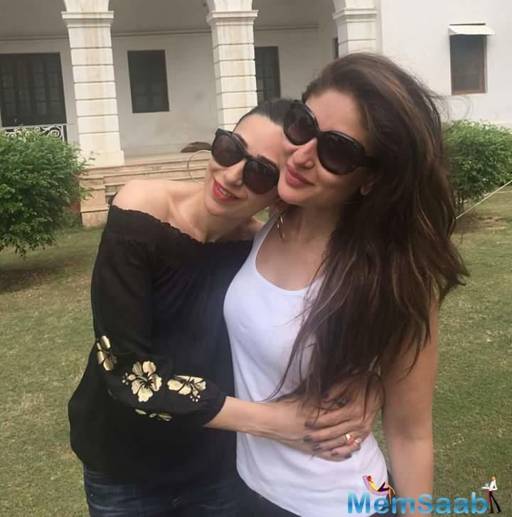 Karisma Kapoor says Kareena Kapoor Khan's style is edgier than hers