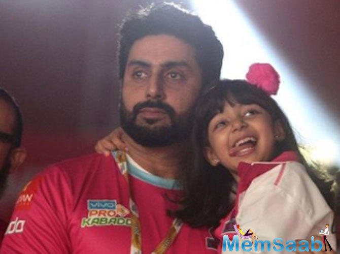 Aaradhya leaves an adorable welcome note for dad Abhishek Bachchan