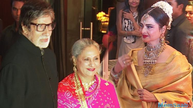 Does Rekha's heart still beat for Amitabh Bachchan?