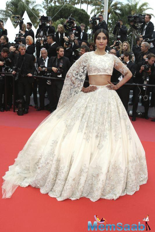Cannes 2018: Newlywed Sonam and Mahira dazzle on the red carpet