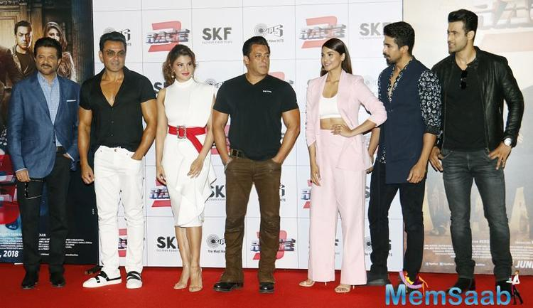 India however is in a sad state since child abuse has not come to an end, and when asked to comment about the same, while a media co-ordinator was unhappy and said that it's a sad topic, Salman said it's the absolutely right topic.