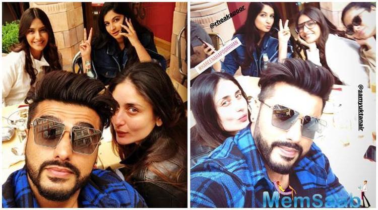 The Kapoors - Arjun, Sonam, Kareena, Rhea Celebrate Veere Di Wedding's success in London