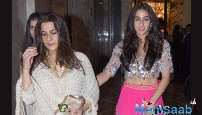 Saif Ali Khan and Amrita Singh's daughter, Sara Ali Khan is all geared up for her Bollywood career. The debutante has already shot for Kedarnath with Sushant Singh Rajput.