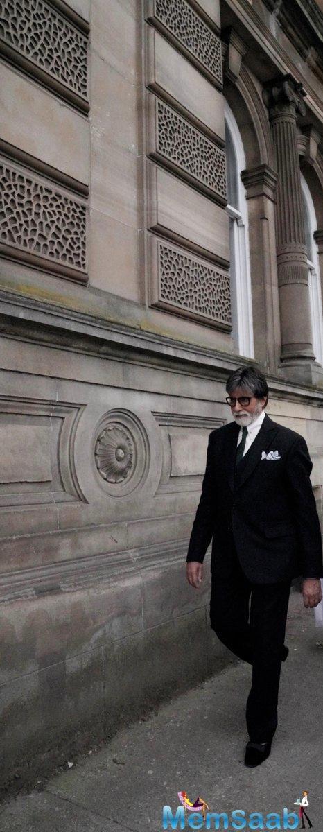 'Hey Salman Khan how you doing': When Big B received unusual greeting in Glasgow