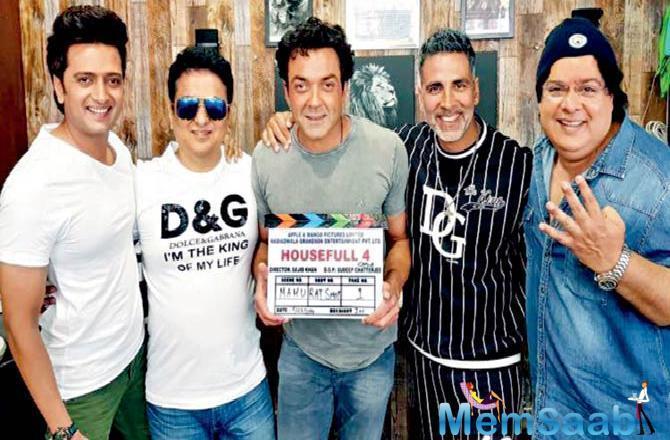 Akshay Kumar's turn to be the silver fox