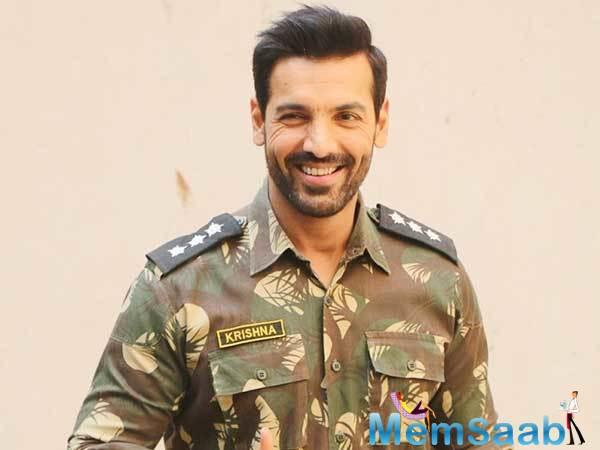 Directed by Nikkhil Advani, the film, features Abraham as the cop who led the Batla House encounters. The encounter occurred in September 2008 against Indian Mujahideen terrorists in the Batla House, a locality in Jamia Nagar in Delhi.