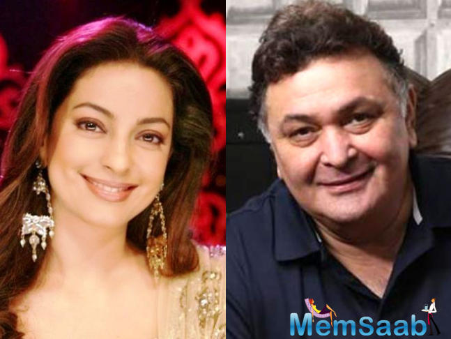 Rishi Kapoor-Juhi Chawla together again