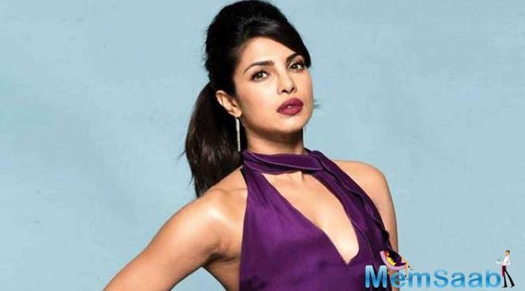 Priyanka Chopra says she spent an emotional night at her mother Madhu Chopra's home.