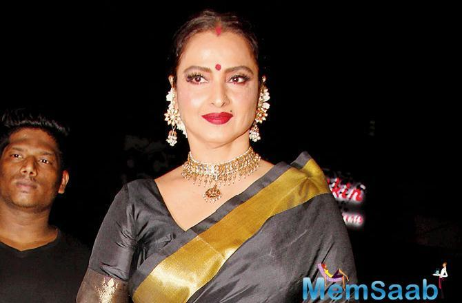 Apart from this fabulous Bollywood journey, Rekha turns narrator for an upcoming TV show, Radha Krishna.