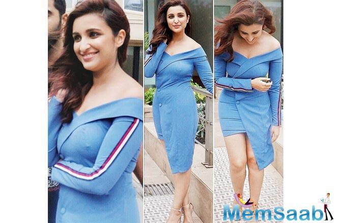 Parineeti Chopra's dress was too tight for comfort