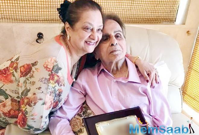 Legendary actor Dilip Kumar, who was admitted to Lilavati hospital here due to chest infection, has been diagnosed with mild pneumonia, his wife Saira Banu said Thursday.