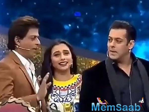 Rani Mukerji wishes Salman Khan to have a daughter and she should get married to SRK kid