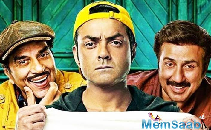 Yamla Pagla Deewana Phir Se has found no takers whatsoever and just like Saheb Biwi aur Gangster 3 which marked an end to the franchise, this one too has just the same.