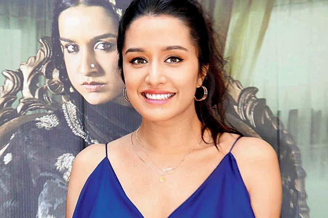 Bollywood's Stree Shraddha Kapoor finally took a day off from her hectic work schedule to bring in the festival of Ganesh Chaturthi with family.