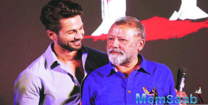 Shahid Kapoor got this tip while working with his father Pankaj Kapur
