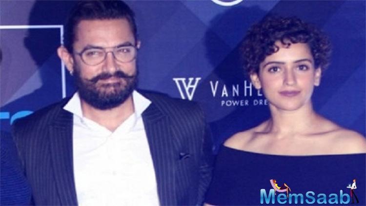 Sanya Malhotra: I don't discuss my scripts with Aamir Khan Sir